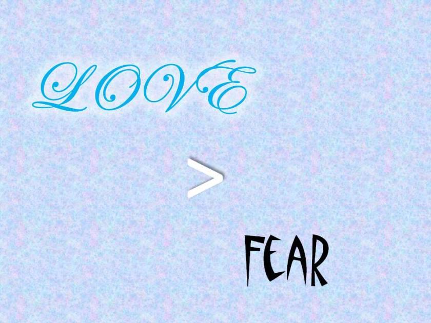 Love - Fear