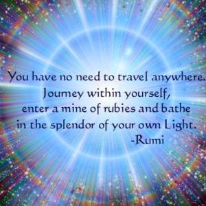 Awakening quote Rumi, enlightenment