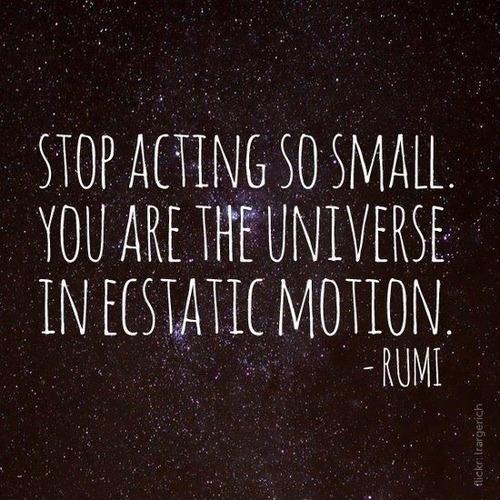 Rumi quote, personal trainer reno