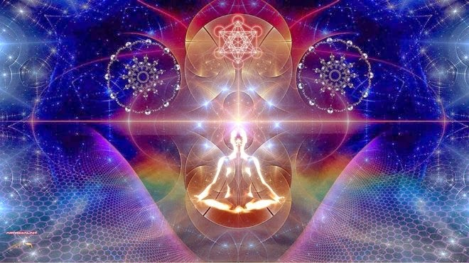 energetic light body, light being