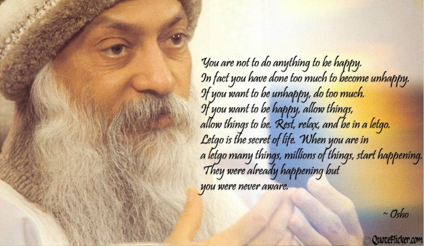Osho quote, best life coach